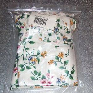 Longaberger-White-Vine-HOPE-CHEST-Basket-Liner-Brand-New-in-Original-Bag