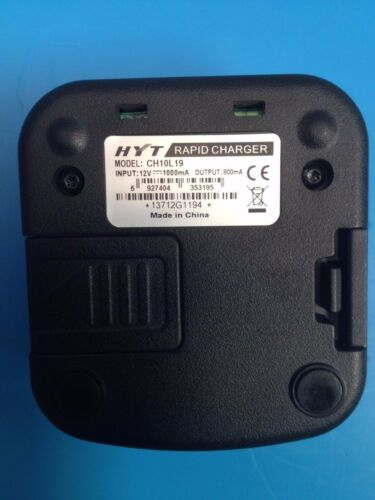 Hytera CH10L19 Rapid Charger HYT TC-508 /& TC-580 Used