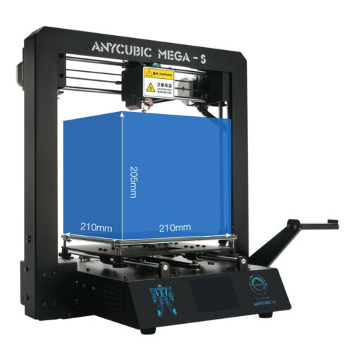 ANYCUBIC Mega-S New Upgrade 3D Printer with Extruder and Suspended Filament Rack