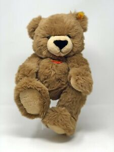 Steiff-Teddy-Baer-MANSCHLI-braun-ca-28-cm-Nr-013409-kuschelweich-neuwertig