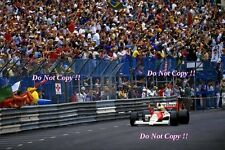 Ayrton Senna McLaren MP4/5B Winner Monaco Grand Prix 1990 Photograph