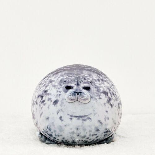 40cm Chubby Blob Seal Plush Pillow Animal Toy Cute Ocean Animal Stuffed Doll