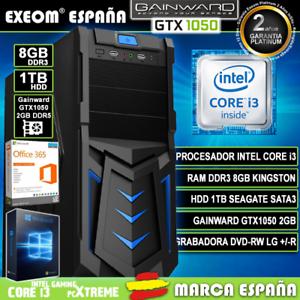 Ordenador-Gaming-Pc-Intel-i3-8GB-HDD-1TB-GTX1050-2Gb-Wifi-Sobremesa-Windows-10