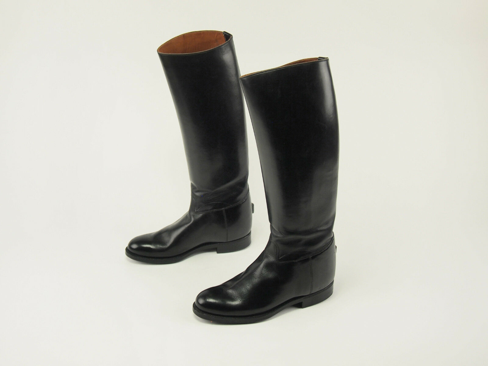 New! FUSE Tokyo Vintage Leather Narrow-calf Equestrian Riding Boots US 6.5