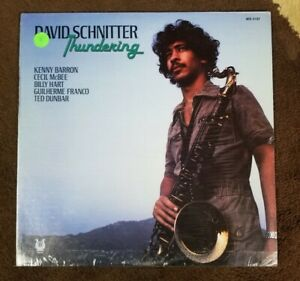 SEALED-Vintage-1979-David-Schnitter-034-Thundering-034-LP-MUSE-Records-MR-5197