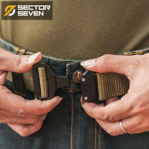 Military-Combat-Tactical-Belt-Men-039-s-Buckle-Nylon-Heavy-Duty-Survival-Waist-Belts