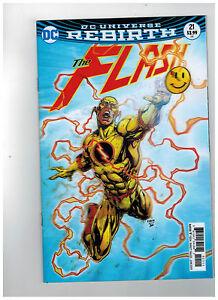 FLASH-21-1st-Printing-Lenticular-Rebirth-The-Button-2017-DC-Comics