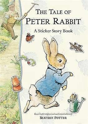 The Tale of Peter Rabbit Sticker Storybook R/I by Potter, Beatrix