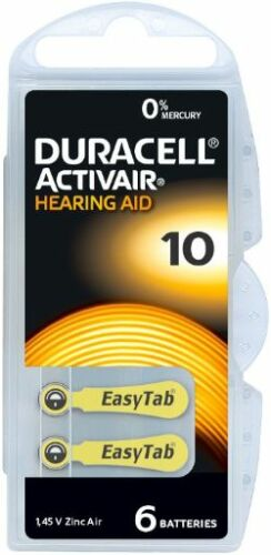 Duracell-GENUINE-Activair-Mercury-Free-Hearing-Aid-Batteries-Size-10