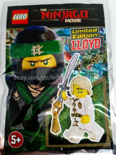 LIMITED EDITION Minifigure  Foil pack 471701 ORIGINAL LEGO NINJAGO LLOYD White