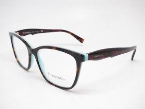 10cd745f343b Tiffany   Co TF 2175 8134 Havana   Blue Eyeglasses 54mm Rx-able ...