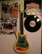 GRETSCH Traveling Wilburys TW 100 Electric Guitar Case Vinyl Record Lp RARE MINT