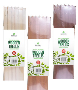 1; x WOOD Trellis 5FT X 2FT Expanding Wooden Garden Trellises 1.5m x 60cm UK