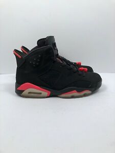 new style 3f418 502a5 Details about Air Jordan Retro 6 Infrared 2014 Basketball Shoes Mens Size 8  Preowned