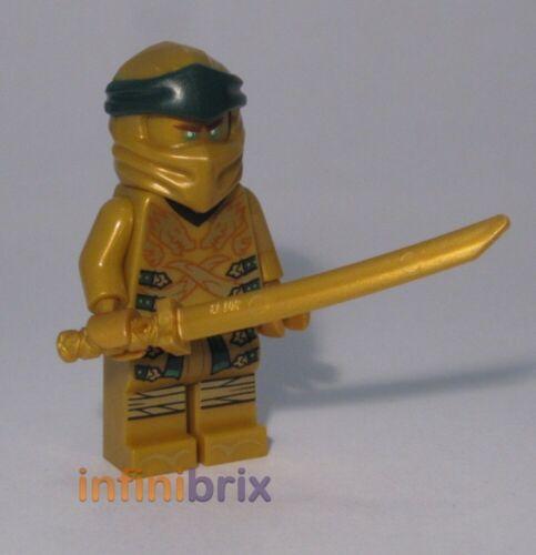from set 70666 Ninjago NEW njo499 Legacy Lego Lloyd Golden Ninja Minifigure