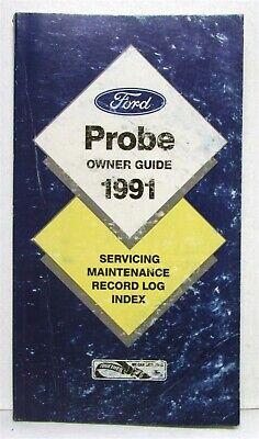 ford probe owners operators manual original ebay