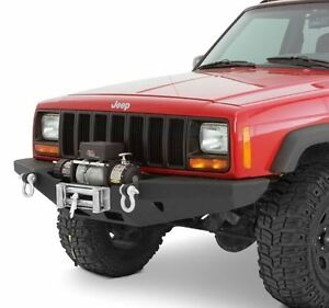 Winch For Jeep >> Details About Smittybilt Rock Crawler Winch Front Bumper For Jeep Cherokee Xj Xrc 84 01