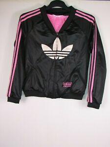 vtg 90s 00s green adidas tracksuit jacket terrace wear
