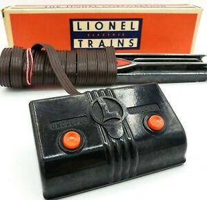 Lionel-Trains-6019-Remote-Control-Track-Set-w-Original-Box-TESTED