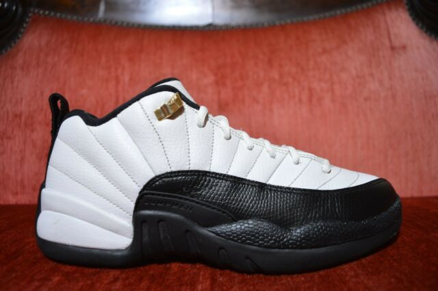 pretty nice 60052 dd0b2 CLEAN Nike Air Jordan XII 12 Low Taxi Retro GS 2004 Size 6 305305 110