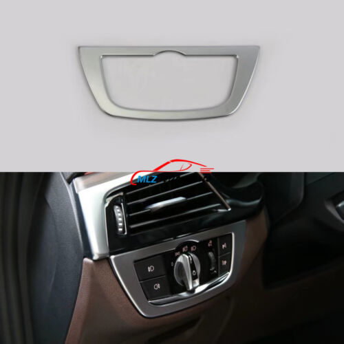 For BMW 5 Series G30 2017 2018 Interior Front Head Fog Light Switch Button Trim