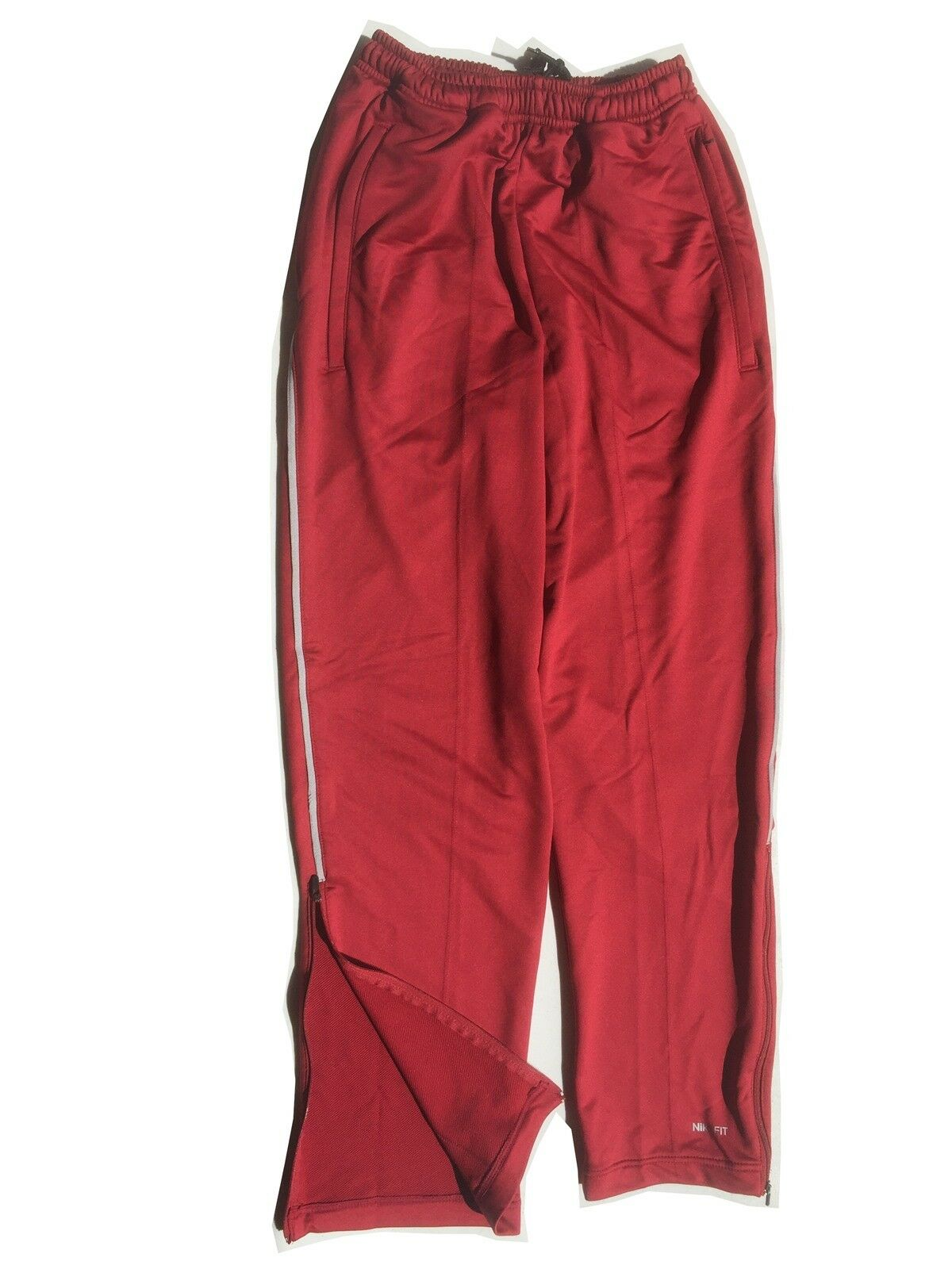 NIKE DRI-FIT Team Issue Basketball Sports Pants Alabama Crimson Tide SZ XSmall