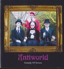 ANTIWORLD Comedy Of Terrors CD 2004 Dark Goth Limited Editoin 2CD * RARE