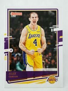 Panini Donruss 2020-21 N13 NBA trading card #97 Los Angeles Lakers Alex Caruso