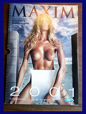 Casalegno Calendario.Calendario Elenoire Casalegno 2001 Maxim Erotismo Collezionismo Ebay