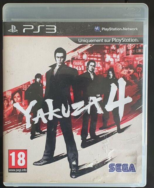 Yakuza 4 - PAL - PlayStation 3 - SEGA