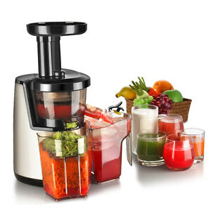 Cold Press Juicer Machine Masticating Slow Juice Extractor Maker