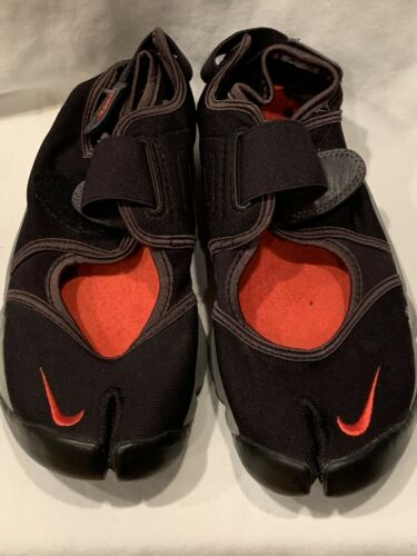 Nike Air Rift Men's 7 (wmn 8.5) 308662-061 Black/R