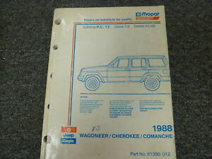 1988 jeep cherokee parts catalog