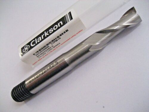 9mm HSSCo8 COBALT 2 FLUTED L//S SLOT DRILL EUROPA TOOL CLARKSON 3022020900  51