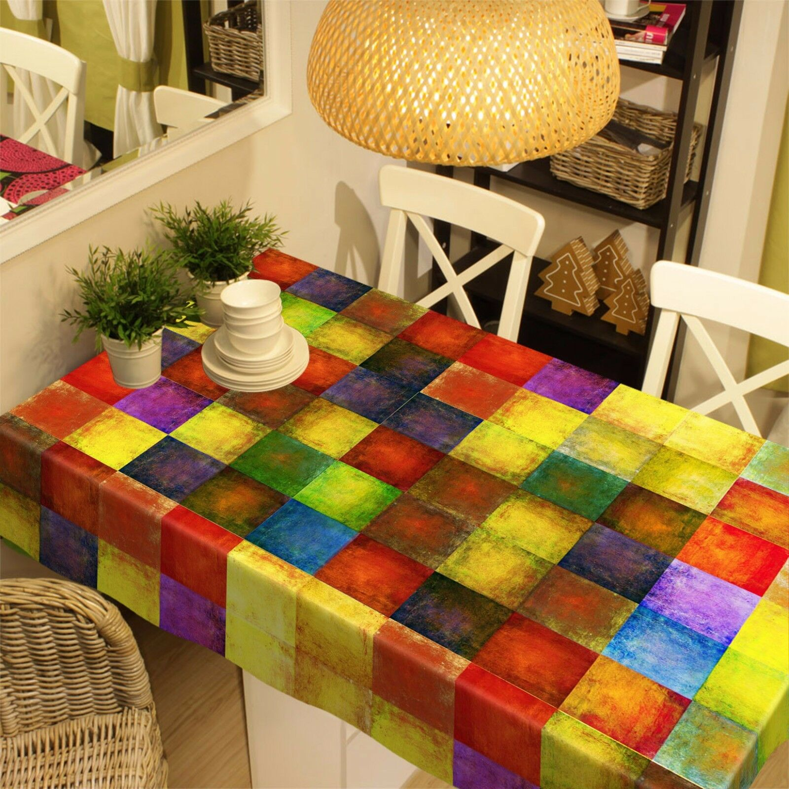 3D Farbe box80 Tablecloth Table Cover Cloth Cloth Cloth Birthday Party Event AJ WALLPAPER UK 7a3782