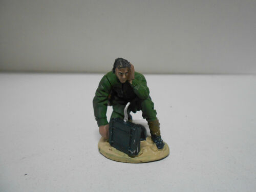 STR 61 FUNKOPERATEUR 1943 GERMAN SOLDIER WW II HOBBY & WORK LEAD 1:32