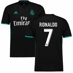 693c2f932 adidas Real Madrid 2017 - 2018 C Ronaldo   7 CR7 Away Soccer Jersey ...