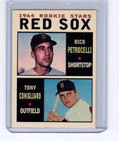 Rico Petrocelli & Tony Conigliaro 1964 Boston Red Sox rookie stars Pastime #1