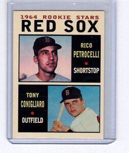 Rico-Petrocelli-Tony-Conigliaro-1964-Boston-Red-Sox-rookie-stars-Pastime-1