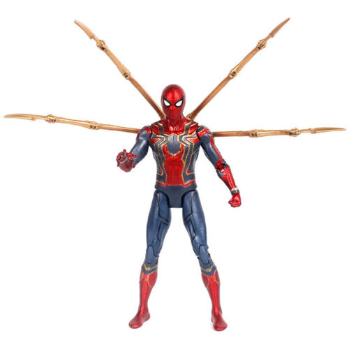Iron Spider Spider-Man Avengers Infinity War Marvel Action Figure Toy Fans Gifts