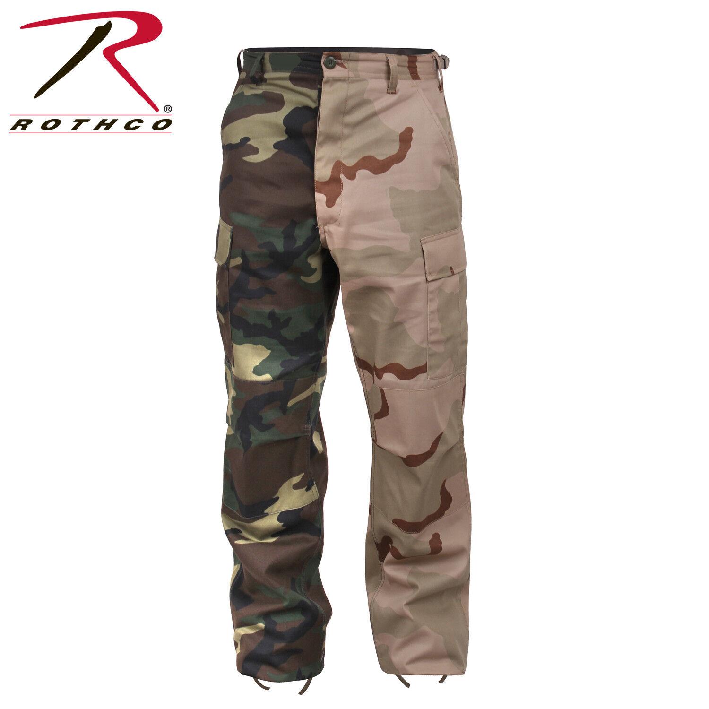 redhco  Tactical BDU Pants Two-Tone Camo Woodland Tri-color  brands online cheap sale