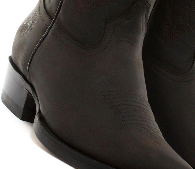 de nouveaux cuir hommes en cuir nouveaux de la louisiane Marron  cow - boy ouest à glisser sur mes bottes 1be84c