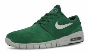 Nike STEFAN JANOSKI MAX L Gorge Green Metallic Silver Discount (506) Men's Shoes