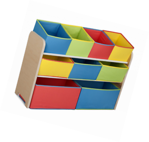 Delta Children Multi Color Deluxe Toy Organizer With Storage Bins Ebay