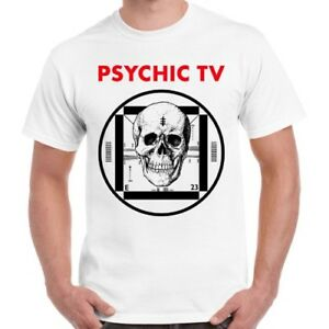 Psychic-TV-Force-The-Hand-Of-Chance-Post-Punk-Retro-T-Shirt-185