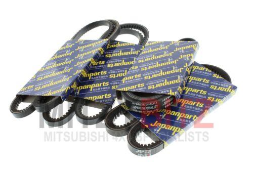 MITSUBISHI L200 K74 2001-2007 2.5 4D56 qualité courroie du ventilateur 4 piece kit VVVV