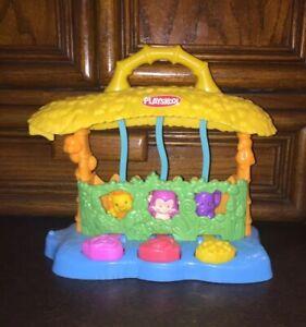 Busy Bouncin' Zoo Vintage Playskool Baby Basics Toy ...