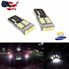 Xenon White Error Free 912 921 T15 LED Bulbs For 12V Car Backup Reverse Lights