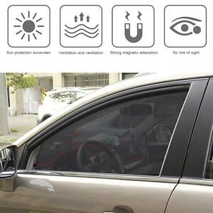 Magnetic-Car-Front-Row-Sun-Shade-UV-Protection-Curtain-Window-Sunshade-80-50mm