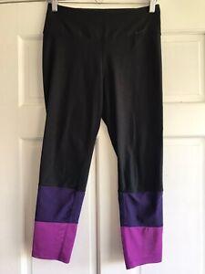 G36 Nike Legend High Waist Mesh Cuff 7 8 Legging 642532 Womens Small Ebay